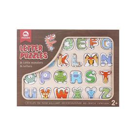 mobee 莫贝恐龙字母拼图礼盒