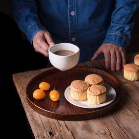 日式和风木质简约餐具茶具 樟木圆形长方形茶水托盘茶盘