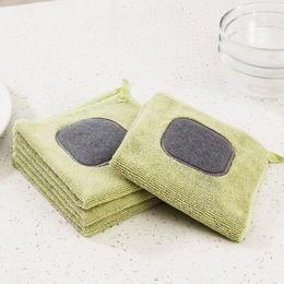 【告别洗涤剂】刷锅刷碗一条搞定 日本设计不沾油抹布 厨房去油利器