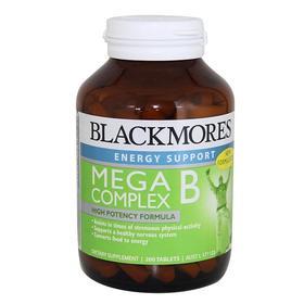 Blackmores/澳佳宝 高能复合维生素B族200粒成人 减轻焦虑精力充沛
