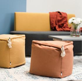 和菓子坐墩方形北欧创意豆袋卧室客厅拆洗懒人沙发
