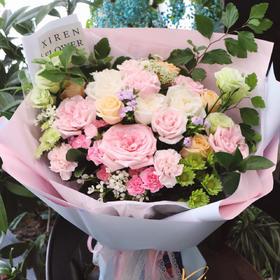 韩式混搭花束