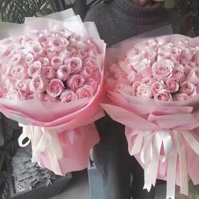 粉红雪山玫瑰