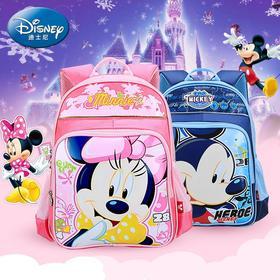 迪士尼幼儿园小学书包男童女童米奇小孩1-3-5学前班儿童双肩背包