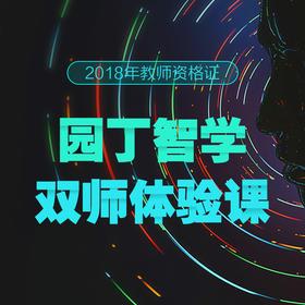 湖南华图2018年教师资格证园丁智学双师体验课