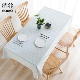 纳谷 | Slowly 手绘几何防水桌布