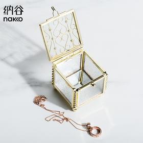 纳谷 | Zero 纯铜镶嵌玻璃雕花首饰盒