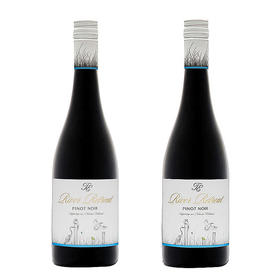 【闪购】穆雷河黑皮诺干红葡萄酒 2014(2瓶/装)/River Retreat Pinot Noir 2014