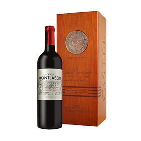 法国蒙拉贝酒庄红葡萄酒木盒装750ml