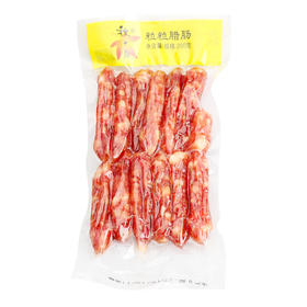 广州酒家珍珠粒粒肠广式腊肠5分瘦腊肠