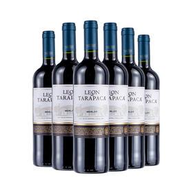 智利红蔓庄园乐恩美乐红葡萄酒750ml*6