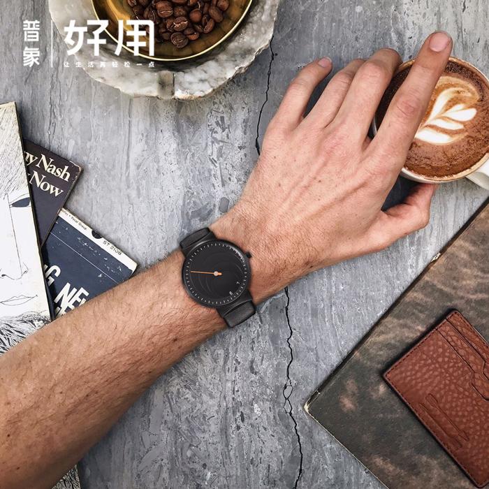 私人定制 虫洞概念手表  单针设计