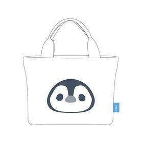 【现货包邮】《怦然心动》萧然首款漫画同款帆布包 想把企鹅带在身边~LJ