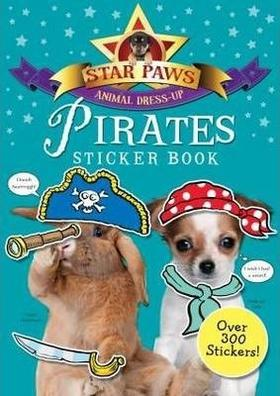 Star Paws, animal dress-up | Pirates sticker book.
