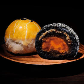 预售纯手工二十余道工序精心制作传统酥心月饼/黑松露酥心月饼