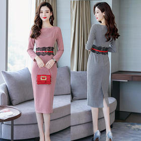 CQ8081mj气质时尚修身连衣裙