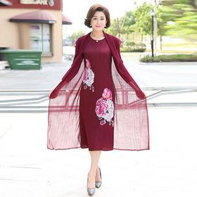 XKNH23E780B时尚气质减龄连衣裙