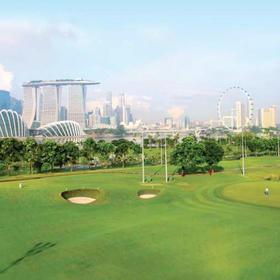 新加坡滨海湾高尔夫球场 Marina Bay Golf Course
