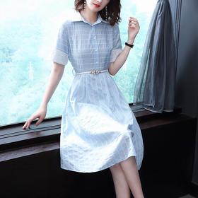 AHM99798mpg时尚条纹小清新裙子
