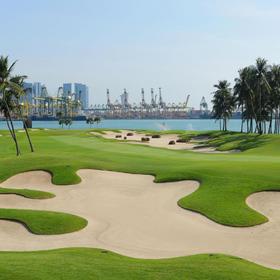 NO.58 新加坡圣淘沙高尔夫俱乐部色拉蓬球场 Sentosa Golf Club – Serapong Course