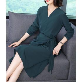 GN8100NU简约气质纯色连衣裙