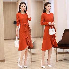 AN2007BBL时尚气质修身连衣裙