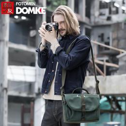 美国DOMKE杜马克 F-803摄影包单反相机包单肩帆布包通勤包邮差包
