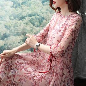 SMHC18154中国风宽松气质连衣裙