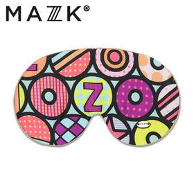 【MAZZZK】真丝天然眼罩|可佩带香薰冰片|多款花色可选|伴你俏皮入眠