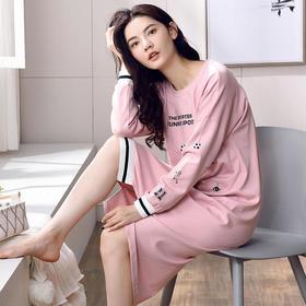 MLQ7603舒适优雅家居服睡裙