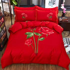 GS01大花纯棉床上四件套