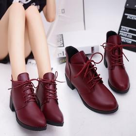 LN6188-1复古尖头马丁靴