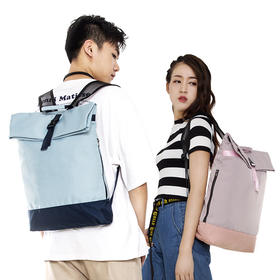【防水防脏、减压降温肩带、可折叠】ZHIFU炫彩空气背包  时尚出行