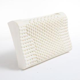 维可馨泰国乳胶枕头枕芯 橡胶颈椎枕头护颈高低成人硅胶枕送枕套