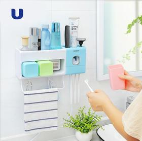 半岛优品   多功能牙刷消毒置物架  提升生活幸福感