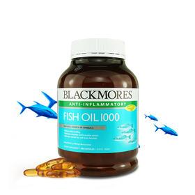 【血管清道夫】澳洲 BLACKMORES 澳佳宝深海原味鱼油 400粒