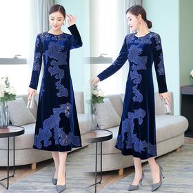GN8898MG修身气质优雅连衣裙