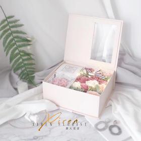 皂花礼盒自带小灯