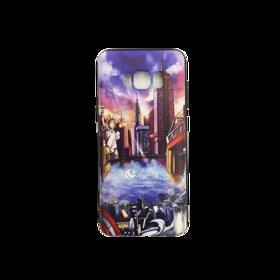 人民网 三星Galaxy S8/S8P/S9/S9P/Note 8 陪你看世界 环保彩绘手机壳 全包边保护套 12款
