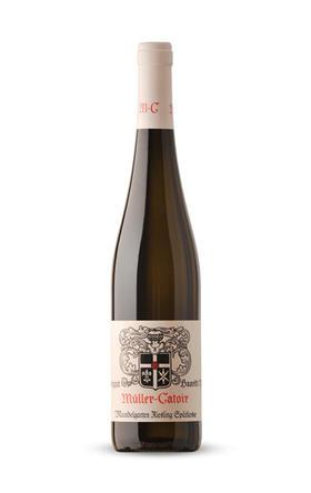 穆勒花园蔓德佳园晚收甜白葡萄酒2015/Muller-Catoir Mandelgarten Riesling Spatlese 2015