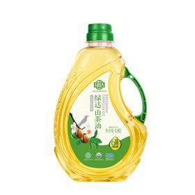 【绿达野生山茶油  压榨一级食用油纯正茶籽油】 1.8L 家庭装茶籽油 有机认证