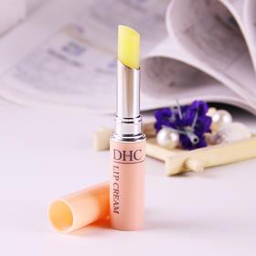 【日本直采】日本 DHC橄榄护唇膏 1.5g 自然植物无色润唇持久保湿滋润