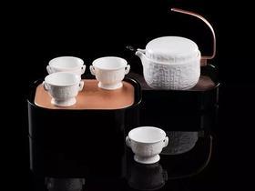 月光宝盒·便携式陶瓷茶具套装