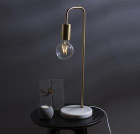 纳谷 | 镀黄铜大理石台灯