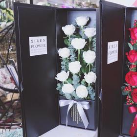 白玫瑰礼盒