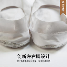 【法国工艺】TOLORINIE夏季冰丝任意剪超薄绝不掉跟男款女款隐形袜子