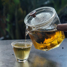 宜样生活 木把八角煮茶器茶壶 金边品茗茶杯(2款可选)【非套装 分开下单】