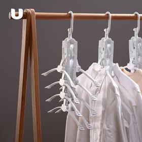 半岛优品   多功能折叠多层衣架 省8倍空间 快速晾衣 热卖
