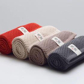【超强吸水抗菌,出口日本】日式纯棉蜂窝毛巾 居家柔软透气  易干吸水 毛巾浴巾