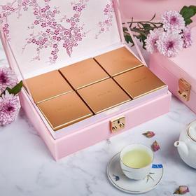 东海朗廷酒店特供迷你金黄奶黄月饼礼盒 6个装
